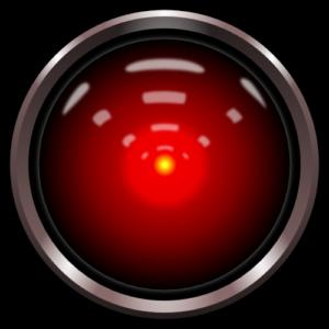 HAL9000, de losgeslagen kunstmatige intelligentie uit de film 2001: A space oddysey