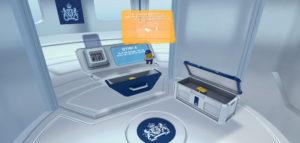 Screenshot het CJIB spel