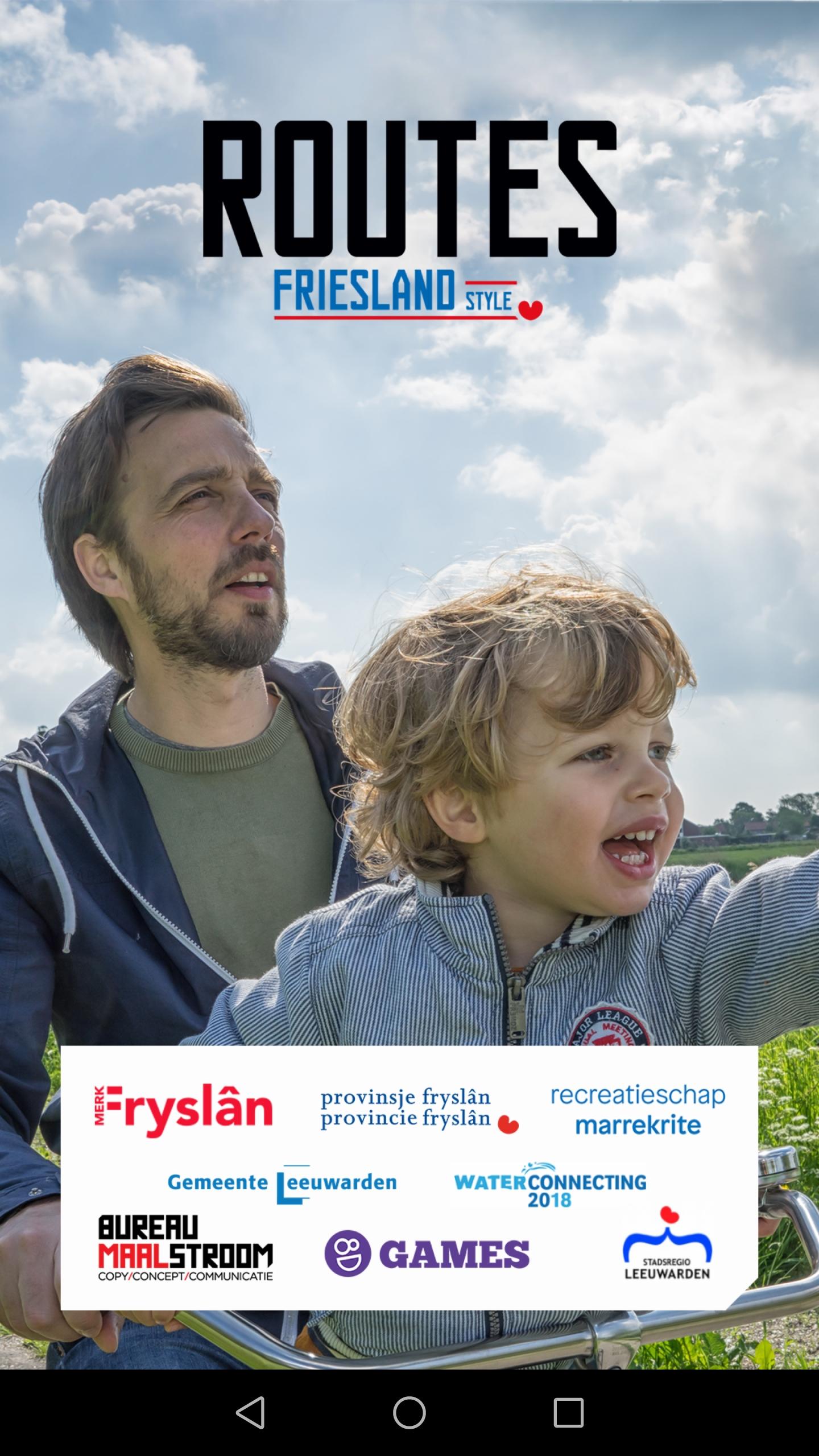 Route app: Routes Fryslan Style